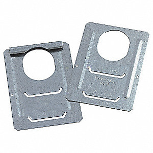 "Pre-Galvanized Steel Support Bracket, For Use With 2-1/2"" to 4"" Studs"