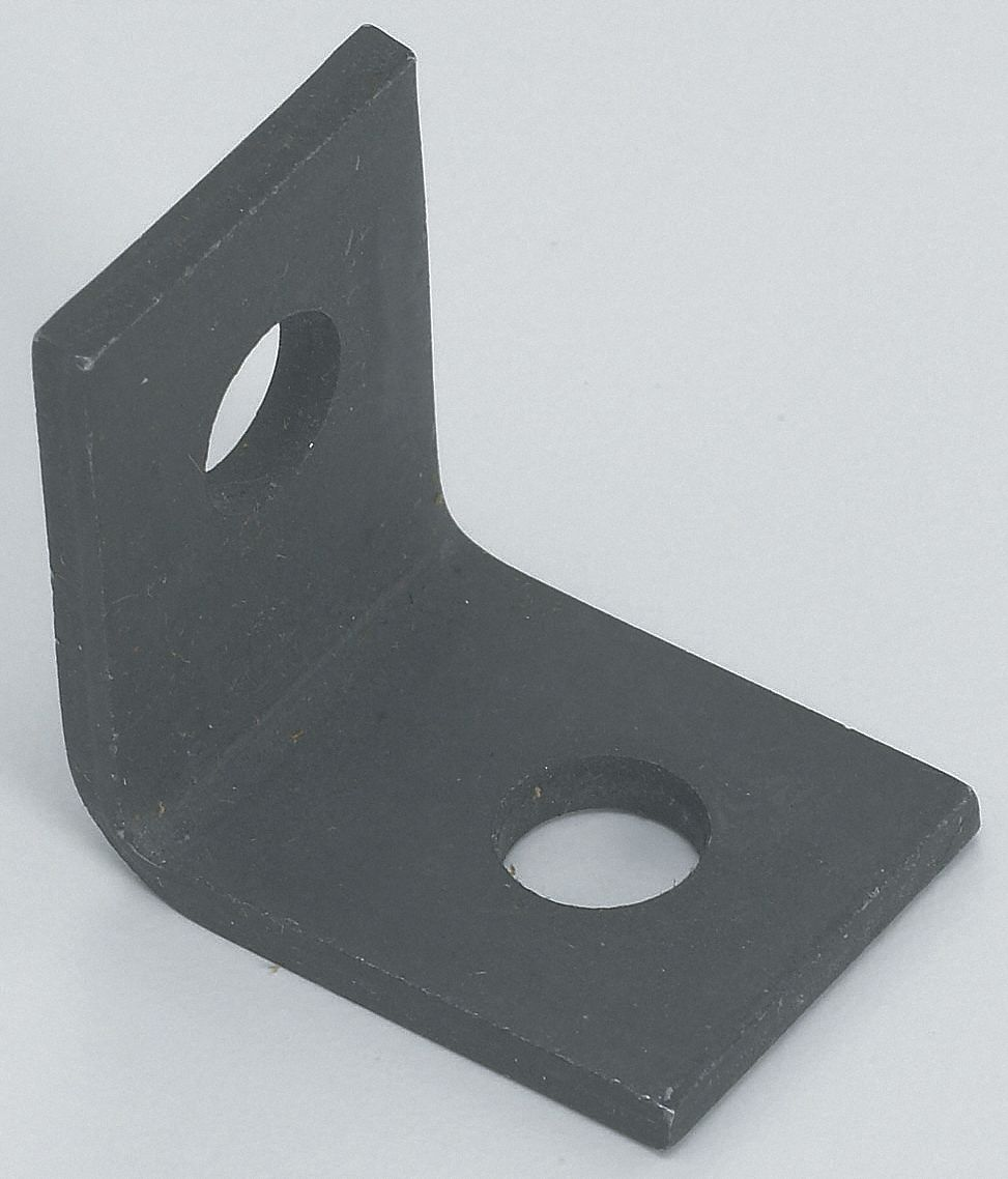 Angle Bracket,  Conduit and Cable Hangers,  Steel,  Zinc Phosphate