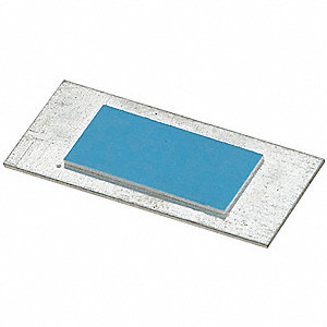 Pre-Galvanized Steel Wire Protection Plate, For Use With Metal or Wood Studs