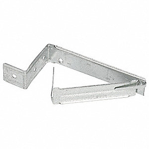 "Cable Bracket, 3/4"" Nominal Conduit/Pipe, Steel, 1 EA"