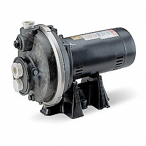 1/2 HP Pool Cleaner Booster Pump, 13.4/6.7 Amps, 3450 RPM