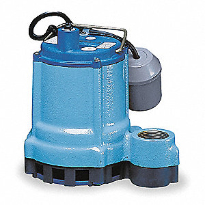 4/10 HP Submersible Effluent Pump, Operation Type: Automatic, Switch Type: Tether