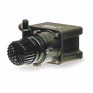 1/35 HP Polypropylene 115V Magnetic Drive Pump, 12.8 ft. Max. Head