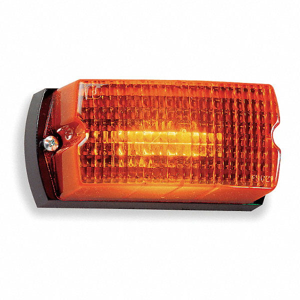 Federal Signal Low Profile Warning Light 4rm44 Lp1 120a