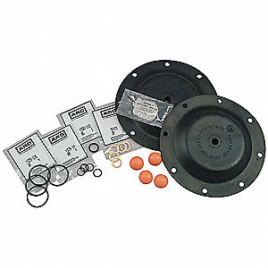 Diaphragm Pump Repair Kit,  For Use With Grainger Item Number 2P598