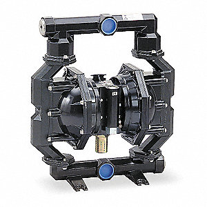 Aluminum Santoprene® Multiport Double Diaphragm Pump, 160 gpm, 120 psi