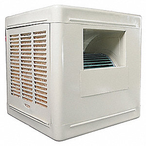 Ducted Evaporative Cooler,6800 cfm,3/4HP