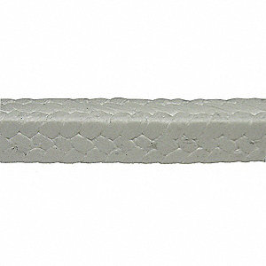 5 ft. Compression Packing Seal, 1/2Sq, PTFE