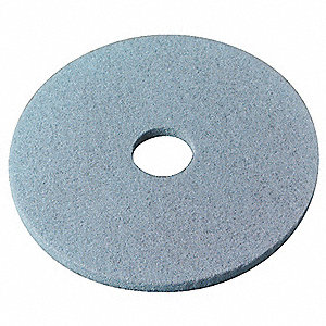 "20"" Aqua Burnishing Pad, Non-Woven Nylon/Polyester Fiber, Package Quantity 5"