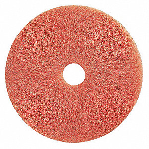 Buffing Pad,20 In,Peach,PK5