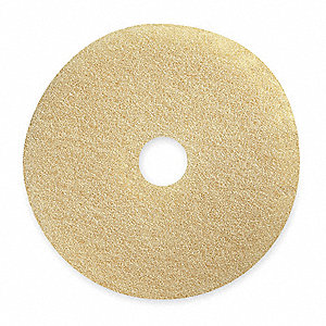 "28"" Beige Burnishing Pad, Package Quantity 2"