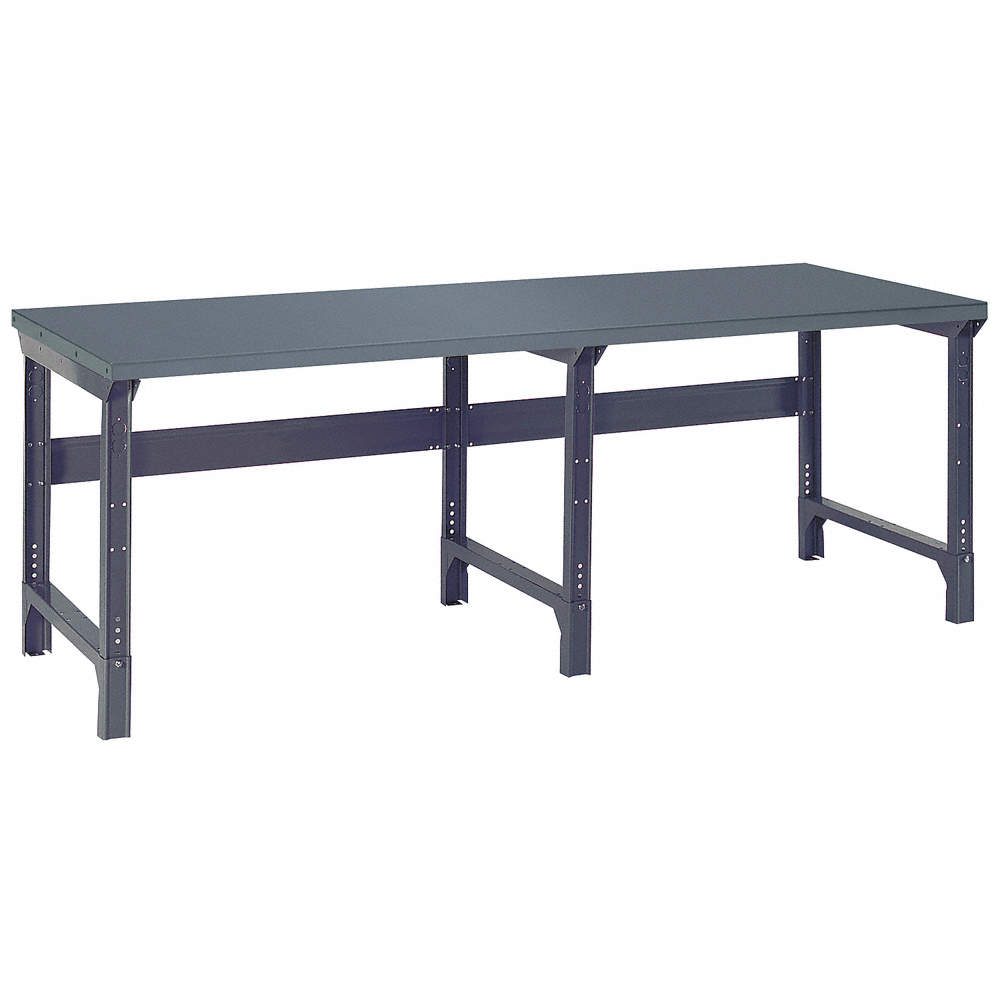 Pleasing Bolted Workbench Steel 30 Depth 30 3 4 To 34 3 4 Height 96 Width 4000 Lb Load Capacity Andrewgaddart Wooden Chair Designs For Living Room Andrewgaddartcom