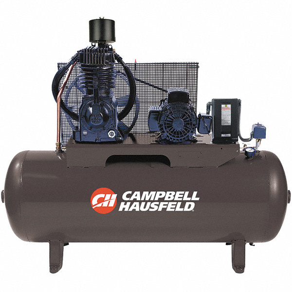 Campbell Hausfeld Air Tank : Campbell hausfeld phase electrical horizontal tank