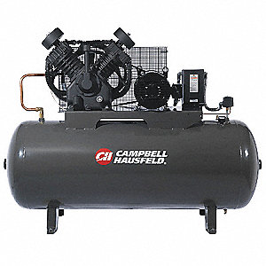 Electric Air Compressor,2 Stage,34.1 cfm