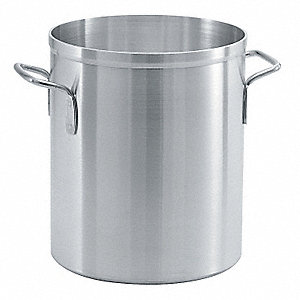 Aluminum Stock Pot; Capacity (Qt.): 24