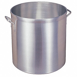 ALUM. STOCK POT, 40 QT, 2 GAUGE