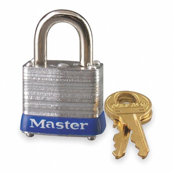 Master Lock Alike Keyed Padlock Open Shackle Type 9 16