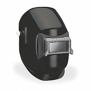 "290 Series, Passive Welding Helmet, 10 Lens Shade, 4.25"" x 2.00"" Viewing AreaBlack"