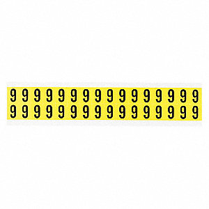 Carded Numbers and Letters,9,PK32