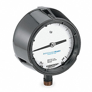 PRESSURE GAUGE,PROCESS,4 1/2 IN,300