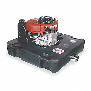 10.5 HP Polyethylene with Cell Polyurethane Foam 465cc Floating Fire Pump, Manual Start