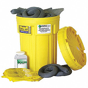 Oil Only / Petroleum Spill Kit, 30 gal. Drum