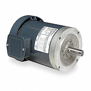 2 HP General Purpose Motor,3-Phase,1725 Nameplate RPM,Voltage 208-230/460,Frame 145TC