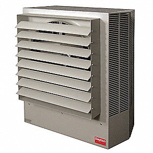 Electric Unit Heater, Vertical or Horizontal, 480VAC, 80.0 kW, 3 Phase