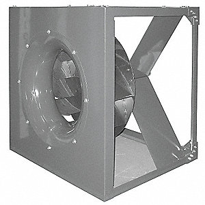 Plenum Fan, Whl Dia 13 1/2 In, w/ Dr Pkg