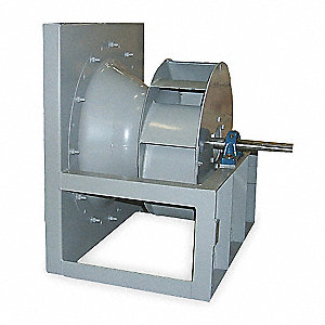 Plenum Fan,Whl Dia 22 In,w/ Dr Pkg