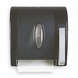 Universal Hardwound Manual Paper Towel Dispenser, Translucent Smoke