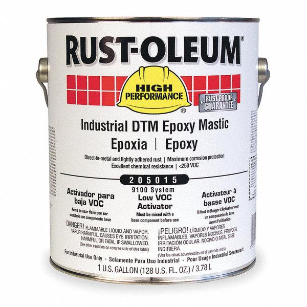 Rust Oleum Epoxy : Rust oleum immersion epoxy coating activator size gal
