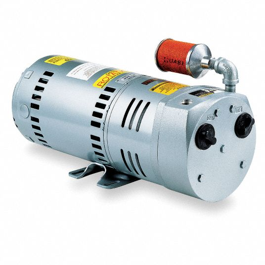 1 hp HP Compressor/Vacuum Pump; Inlet Size: 3/8 in NPT, Outlet Size: 3/8 in NPT