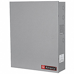 Steel Enclosure Xxlg Fits 2- 12Ah Battery with Gray Finish