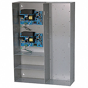 Steel Power Supply 12Dc/6A Or 24Dc/6A 12A Max with Gray Finish