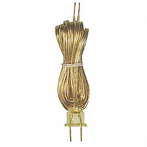 8ft Gold Cord Set SPT-1