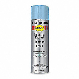 High Performance Rust Preventative Spray Paint in Gloss Light Blue for Metal, Steel, 15 oz.
