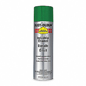 High Performance Rust Preventative Spray Paint in Gloss Bright Green for Metal, Steel, 15 oz.