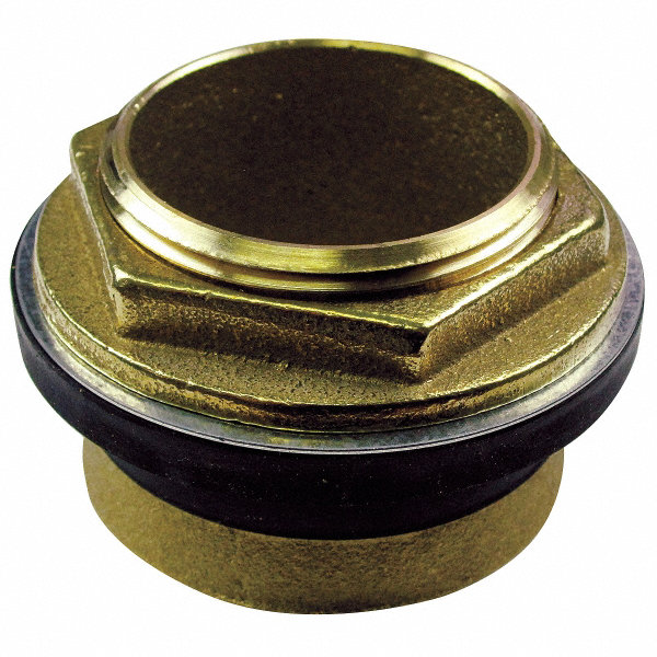 American Standard Brass And Rubber Inlet Spud Brass For