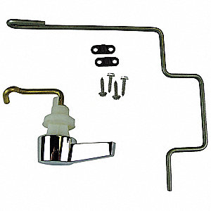 Brass and Metal Left Hand Trip Lever Repair Kit, Chrome, For Use With American Standard Cadet Pressu