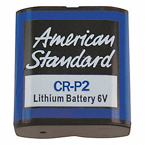 Replacement Lithium Battery for American Standard Selectronic and Ceratronic Fixtures, Flush Valves