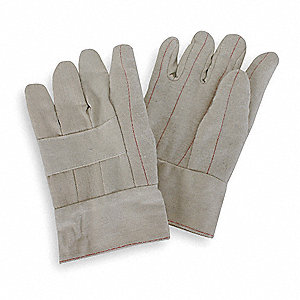 Heat Resistant Gloves, Polyester/Cotton, 275°F Max. Temp., L, PR 1