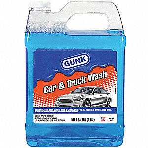 gunk car wash liquid conc 1 gallon bottle 4tkg8 vw5 grainger. Black Bedroom Furniture Sets. Home Design Ideas