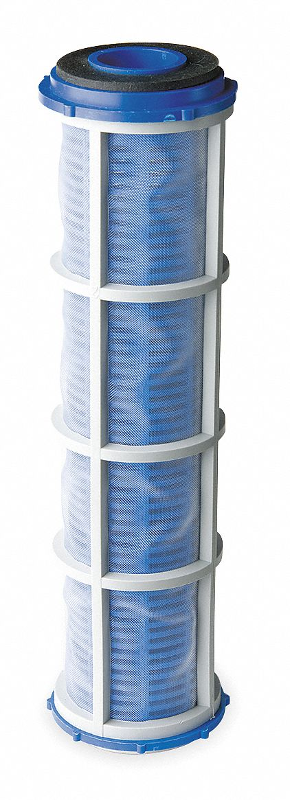 Cloth Reusable 350 Micron Filter Cartridge, Blue; Removes Particles