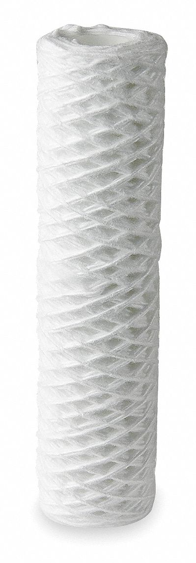 Cloth Disposable 200 Micron Filter Cartridge, White; Removes Particles