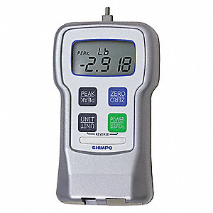 Digital Force Gauge,Range 5 lb,USB