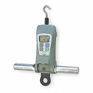 Digital Force Gauge,Range 500 lb,RS 232