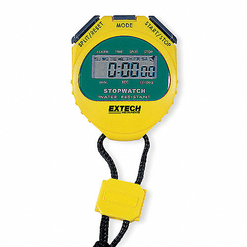 d390c7c10 Cronómetro Digital, Intervalo de Tiempo Máx. Cuenta Hasta 23 hr., 59 min
