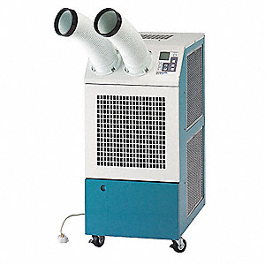 Commercial/Industrial 120VACV Portable Air Conditioner, 13,200 BtuH Cooling