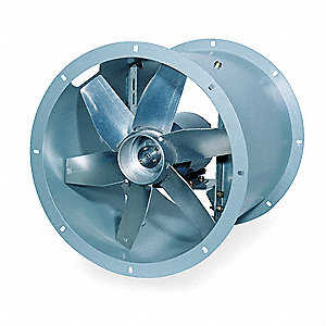 "12"" Tubeaxial Fan, Motor HP 1/4, Voltage 115, 1 Phase"
